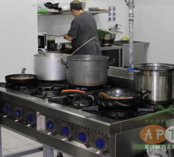 Установка оборудования в кафе «Кореана Family» фото 2