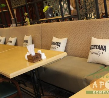 Установка оборудования в кафе «Кореана Family» фото 6