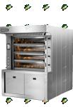 Подовая паротрубная печь ETO100