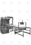 Подовая паротрубная печь ETO625E1
