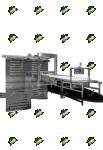 Подовая паротрубная печь ETO625E2
