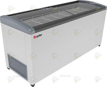 Ларь морозильный Frostor GELLAR FG 775 E серый