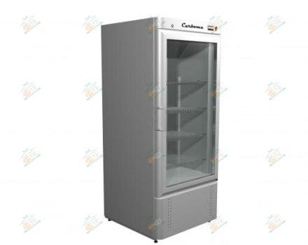 Холодильный шкаф Carboma R560 С (стекло)