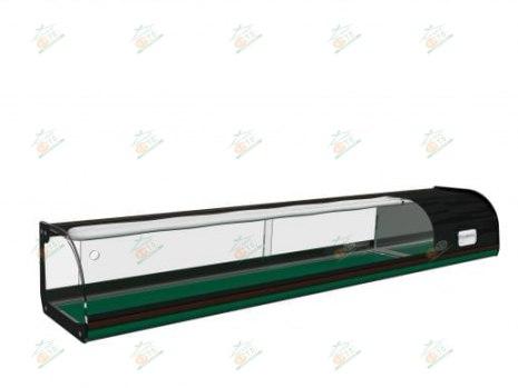 Настольная холодильная витрина Carboma ВХСв-1,0 Суши кейс
