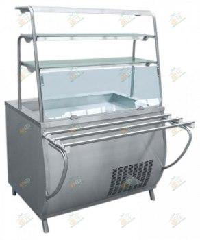 Прилавок-витрина холодильный ПВВ(Н)-70Т-НШ