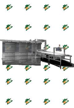 Подовая паротрубная печь ETO625E3
