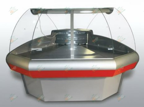 Угловая холодильная витрина Carboma ВХСу-1