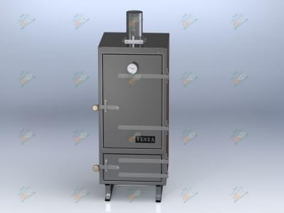Угольная коптильня - VESTA Model K (Хоспер)