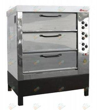 Печь хлебопекарная Восход ХПЭ-750/3 нерж. сталь