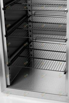 Шкаф морозильный АРКТО F0,7-G (нерж)