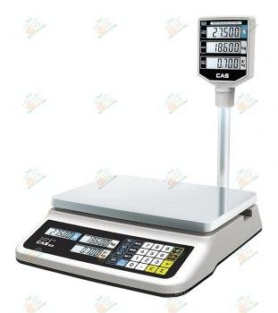 Торговые весы CAS PR-30P LCD